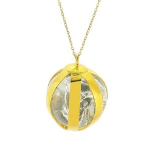 Ball Quartz Necklace