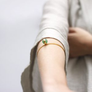 Sphere Aventurine Bangle