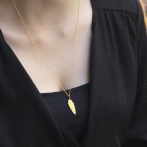 Banana Leaves Big Necklace