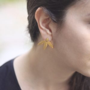 Banana Leaves Earrings