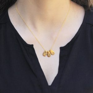 Three Initial Necklace