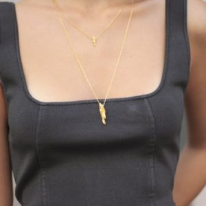 Flow Vertical Necklace