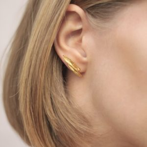 Flow Horizontal Earring